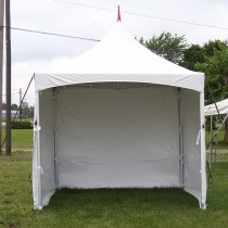 8' x 10' Solid Cross Cable Frame Tent Sidewall
