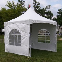 8' x 10' Cross Cable Frame Tent Window Sidewall