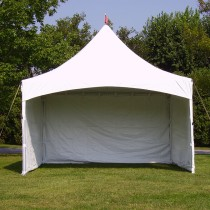 8' x 15' Solid Cross Cable Frame Tent Sidewall
