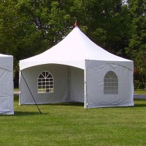 8' x 15' Cross Cable Frame Tent Window Sidewall